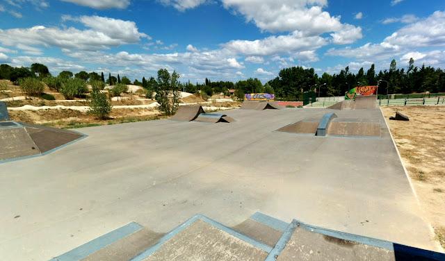 skatepark du crès nouveau