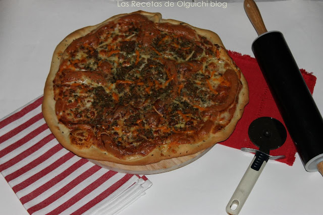 PIZZA MARGARITA A LA PIEDRA (THERMOMIX)