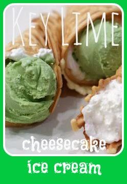Key Lime Cheesecake Ice Cream Recipe | LaBelle's General Store  #keylime #icecream