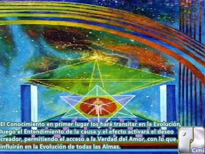 Sus esfuerzos están creando ondas de Amor en todo el Universo y están afectando a la Evolución de todas las Almas.