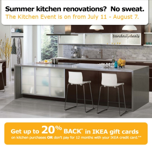 Canadian Daily Deals Ikea Canada Get Up To 20 Back In