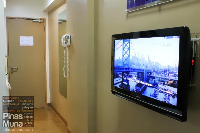 Tune Hotel Angeles City LCD TV