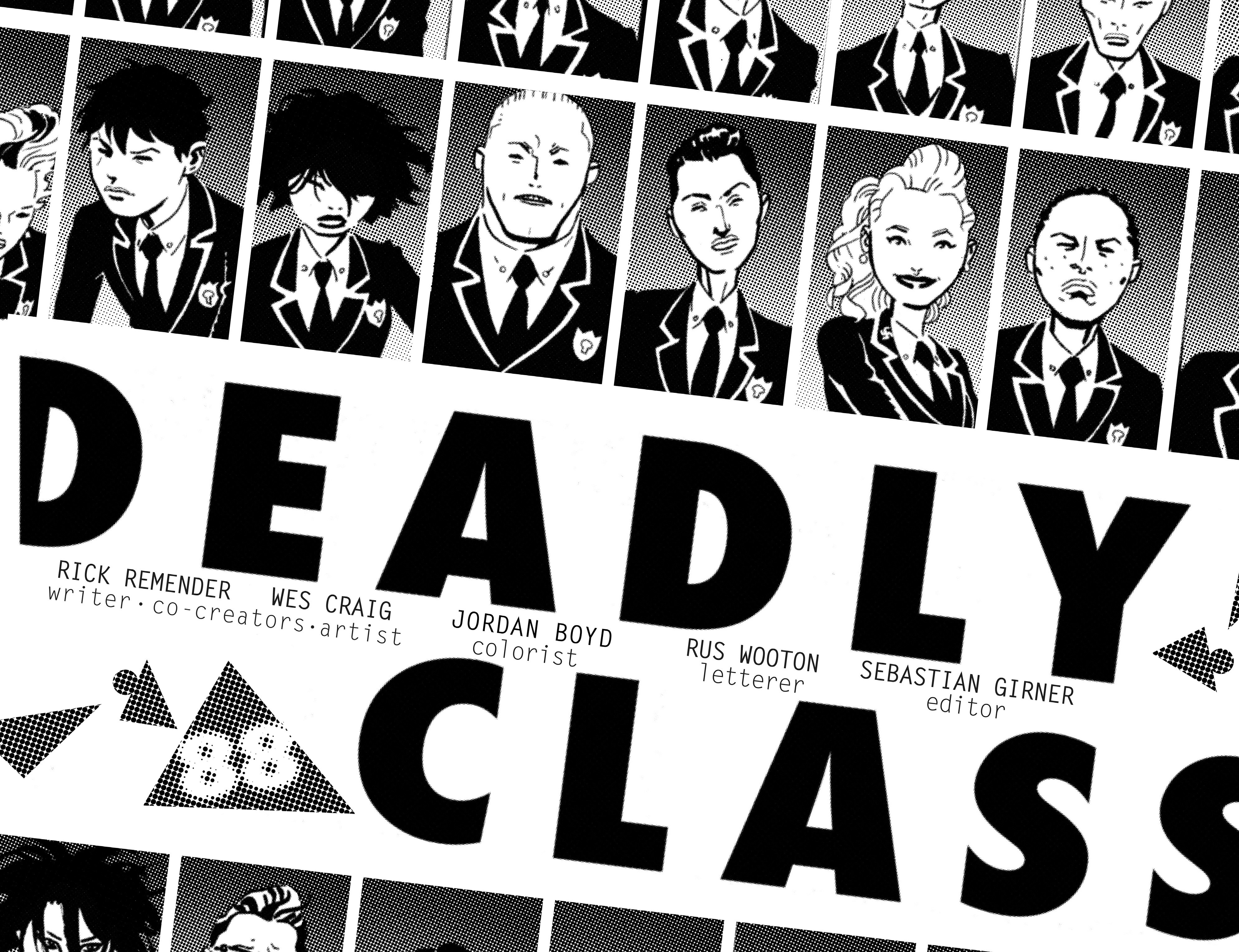 Read online Deadly Class comic -  Issue #18 - 10