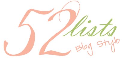 The Wish List – 52 Lists