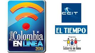 Premio Colombia en linea 2.011