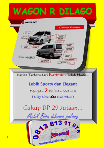 Promo Karimun Wagon R DILAGO Bekasi