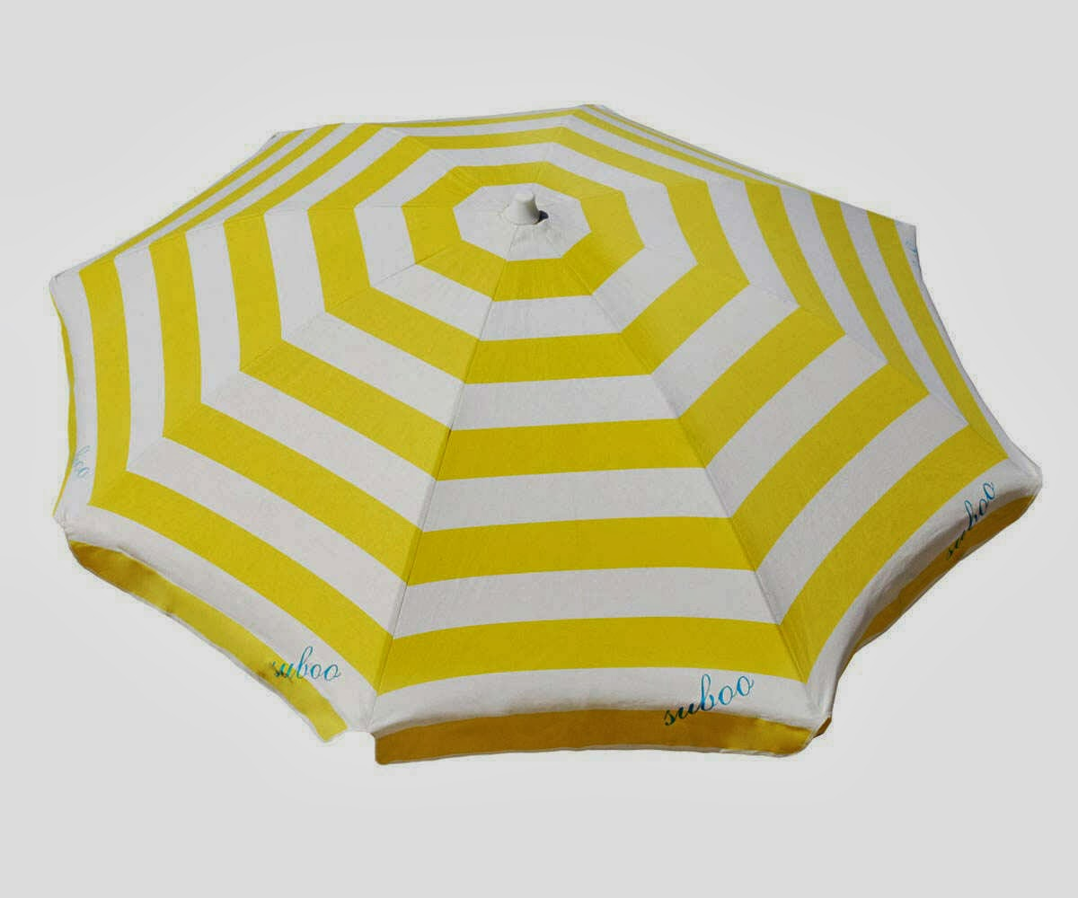 Santa Monica Beach Umbrella By Saboo