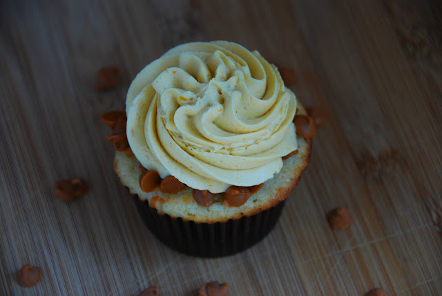 Boozy Brown Butter Cupcakes with Pumpkin Buttercream