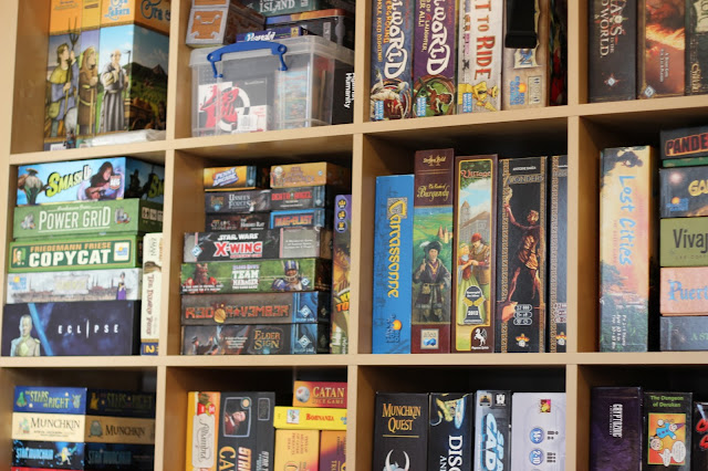 Random Nerdery - Board game shelves