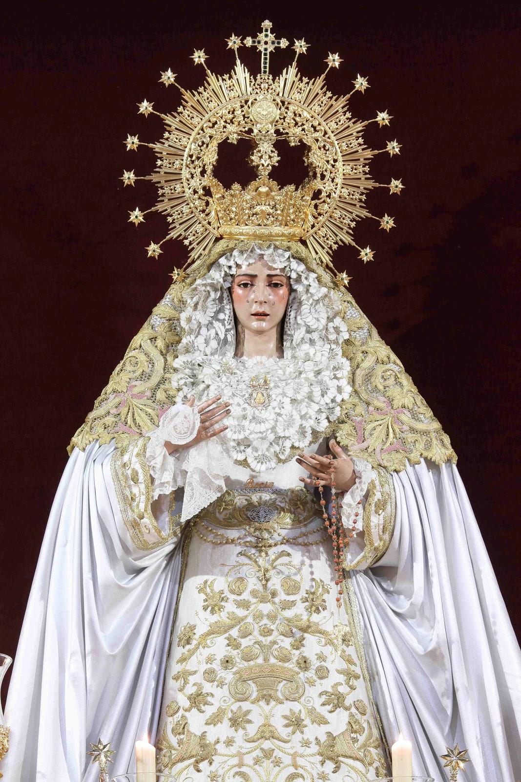 Bendición de Ntra Sra del Rocío y subida al paso de los titulares IMG_9401