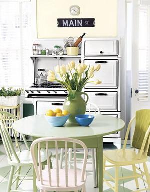 Leo decora algunas cocinas blancas con encanto for Cocinas country