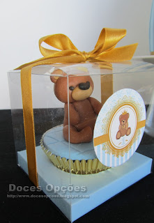 cupcakes ursinho bragança