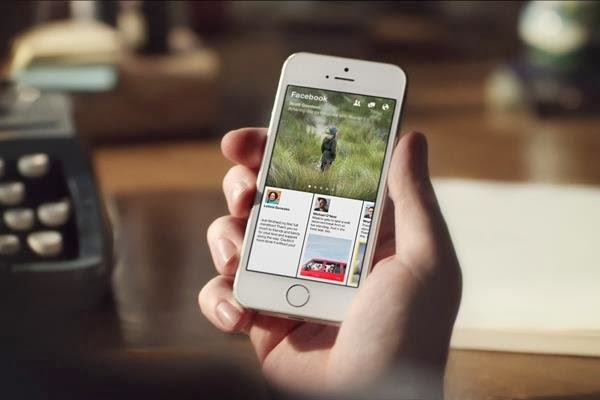 Facebook Paper for iPhone