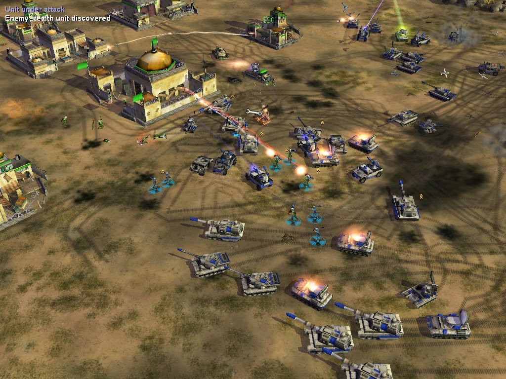 command (and,furthermore) conquer generals zero hour