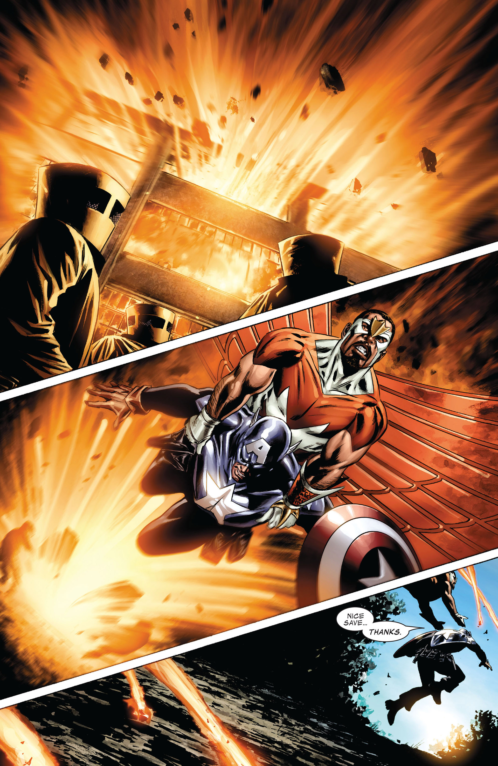 Captain America (2005) Issue #38 #38 - English 21