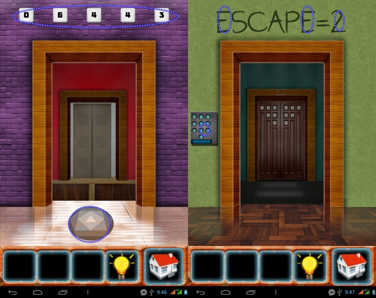 100 Doors Classic Escape Level 31 32 33 34 35 Solution