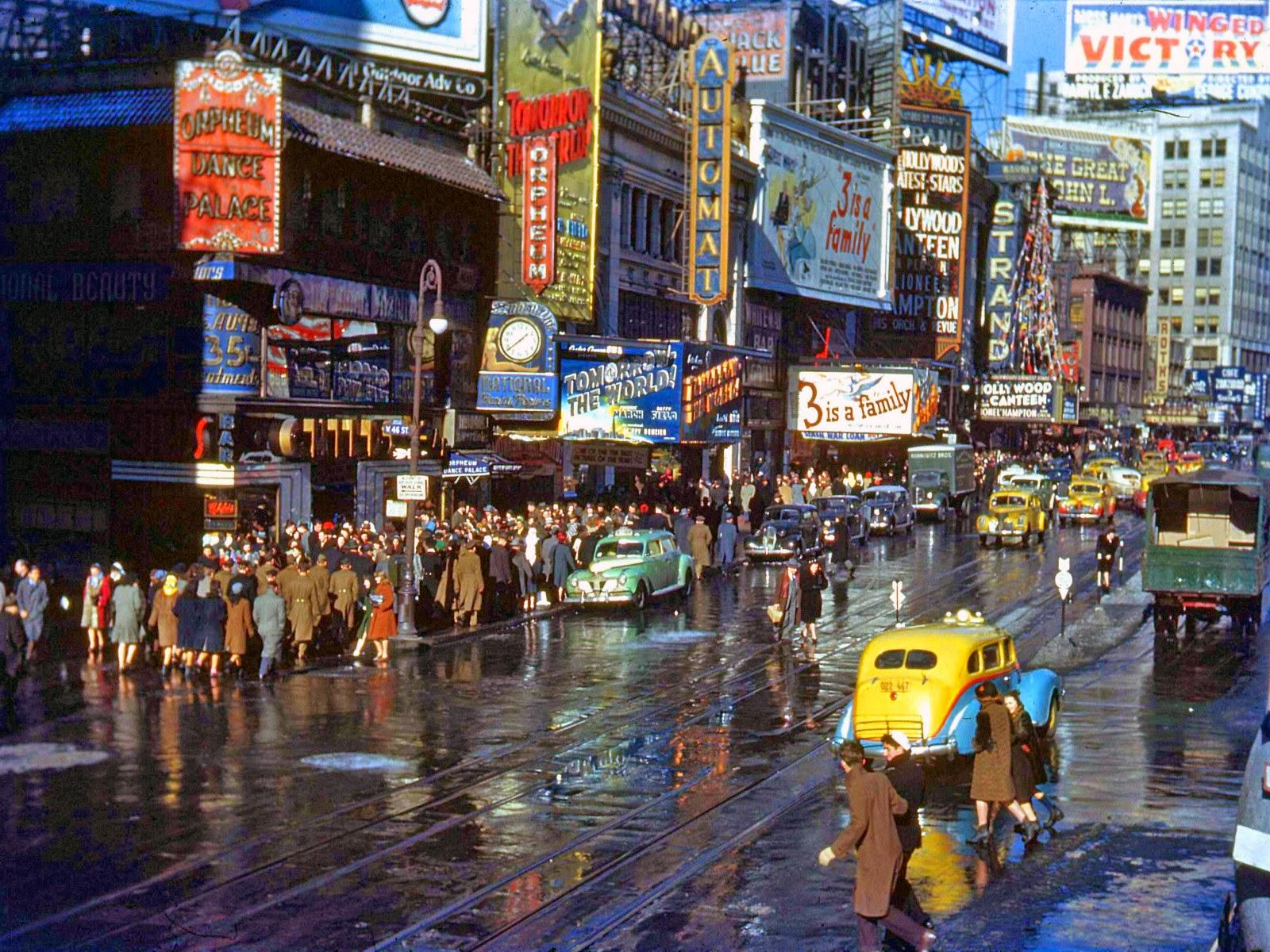 Nueva York en los años 40