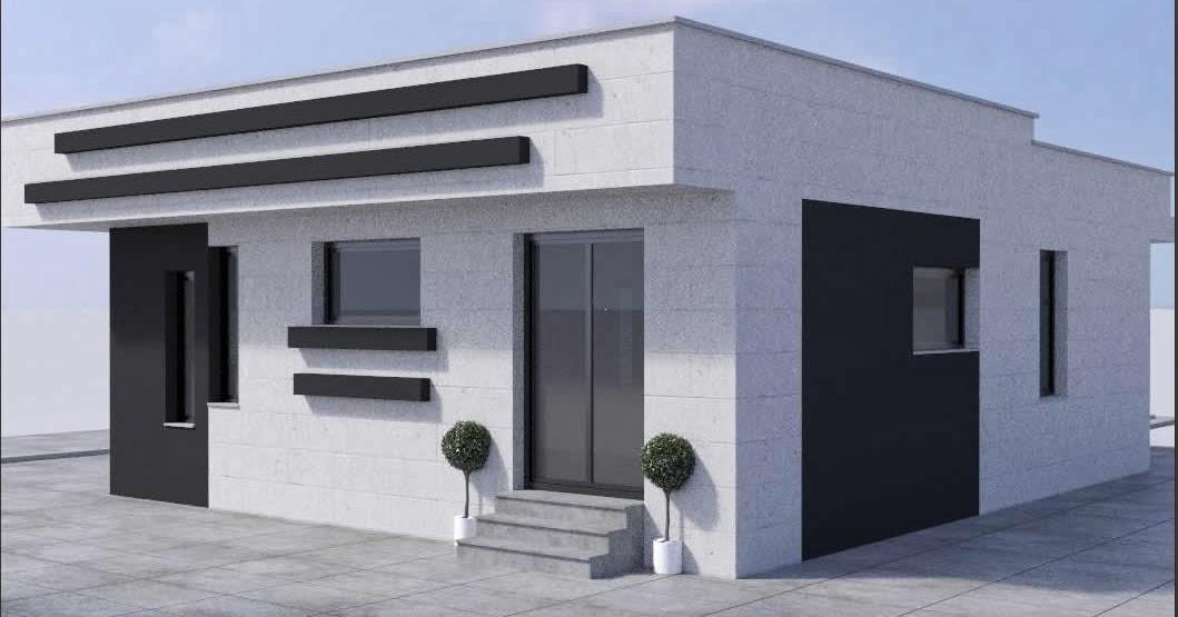 Casas y casetas prefabricadas de hormig n armado for Tejados prefabricados