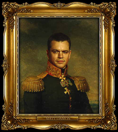 Matt Damon Replaceface
