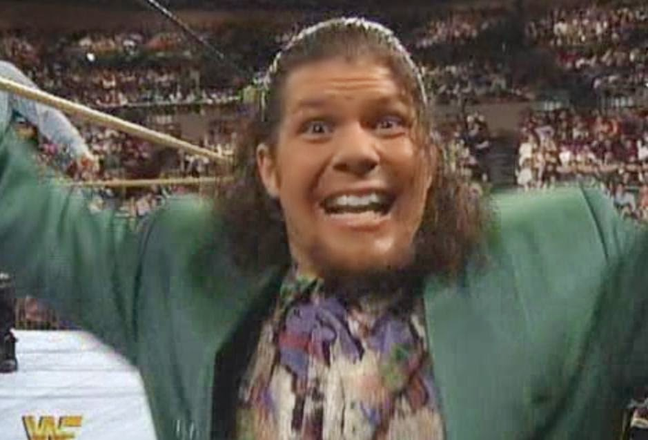 "WWF / WWE: Wrestlemania 10 - 20 years before Daniel Bryan, Johnny Polo began his own Wrestlemania ""YES! YES! YES!"" chant"