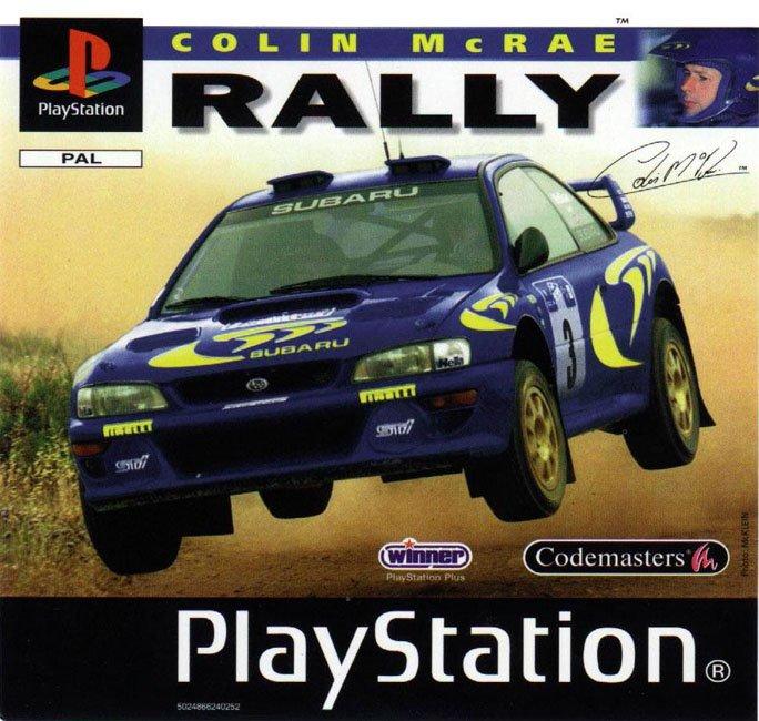 Collin McRae Rally Psone