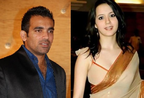 Isha Sharvani And Zaheer Khan Marriage Zaheer Khan's Marriage...