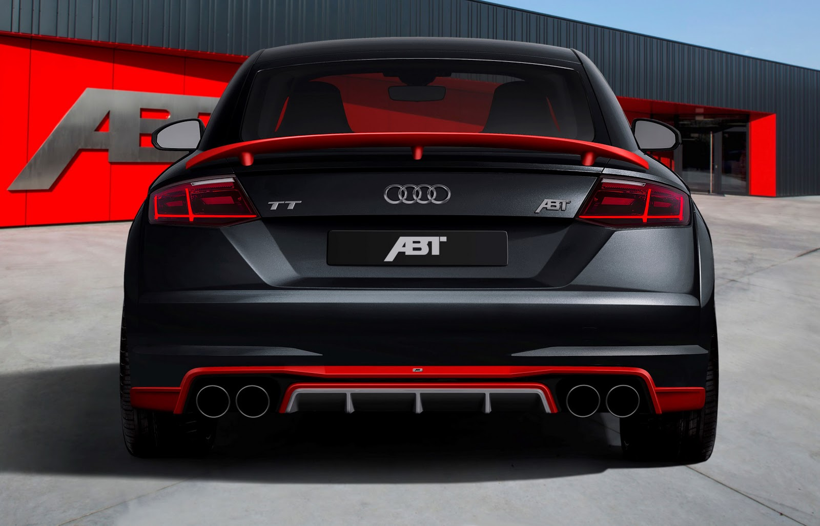 new audi tt earns its first abt tuning stripes carscoops. Black Bedroom Furniture Sets. Home Design Ideas
