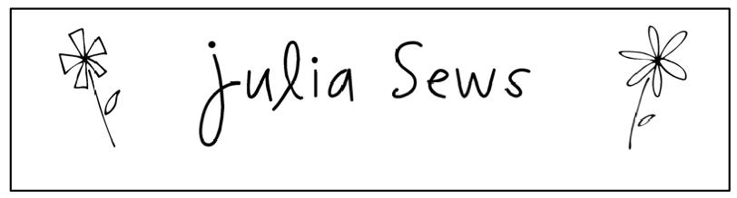 Julia Sews