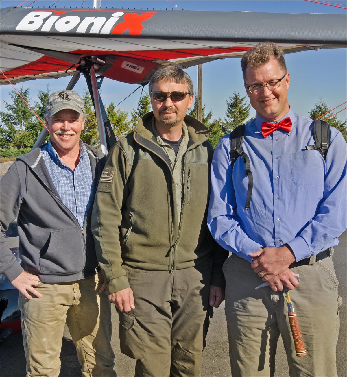 Tom Foster, Tom Tabbert and Nick Zentner.