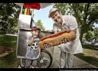 Largest Hot Dog Commercially Available