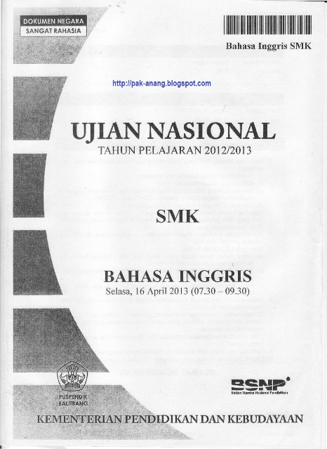 thesis bahasa inggris uns