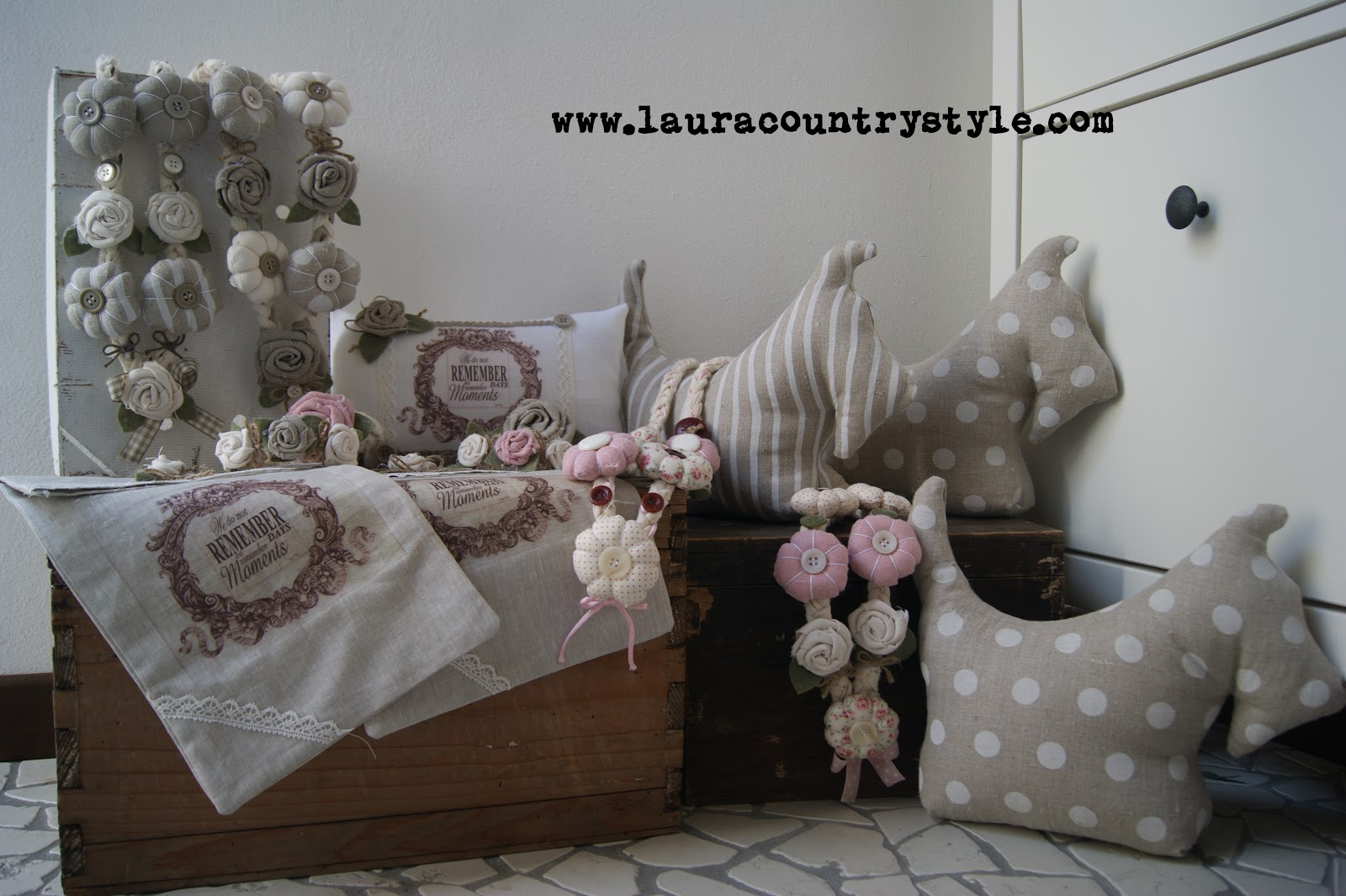Vintage Laura Country Laura Country Romanticamente Style qw0wgrX