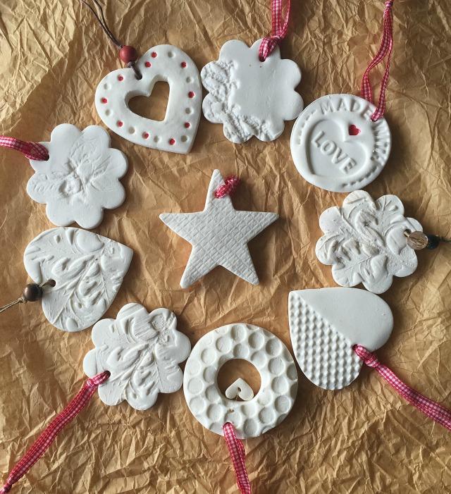 Tutorial decoraciones navide as con pasta de modelar - Pasta para modelar manualidades ...