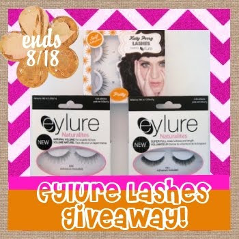 eylure lashes, katy perry, naturalites, giveaway