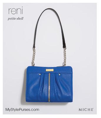 Miche Reni Petite Shell in Cobalt Blue