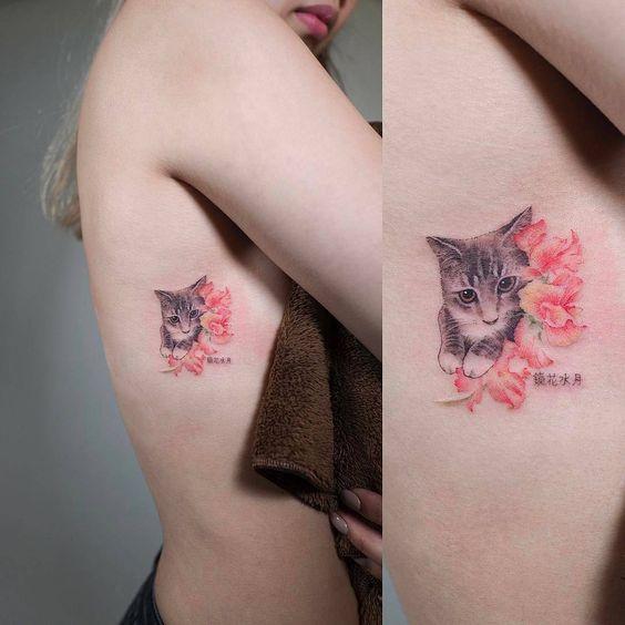 tatuajes de gatos