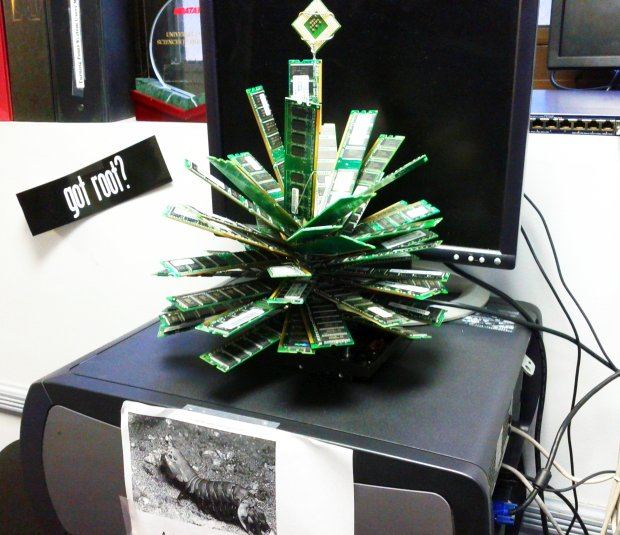 IT Geek Christmas Tree