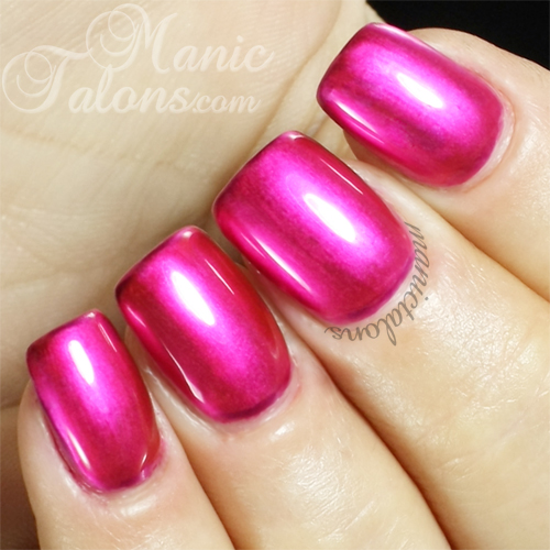 Bundle Monster Rising Starlet Metallic Gel Polish Swatch