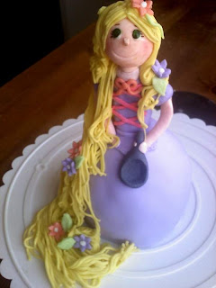 Rapunzel Cake Topper Ideas