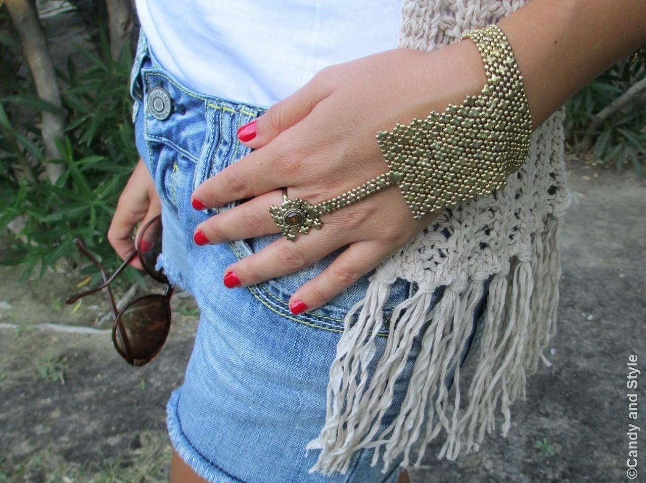 Urbiana Ring Bracelet