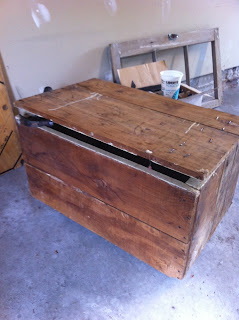 old crate garbage free