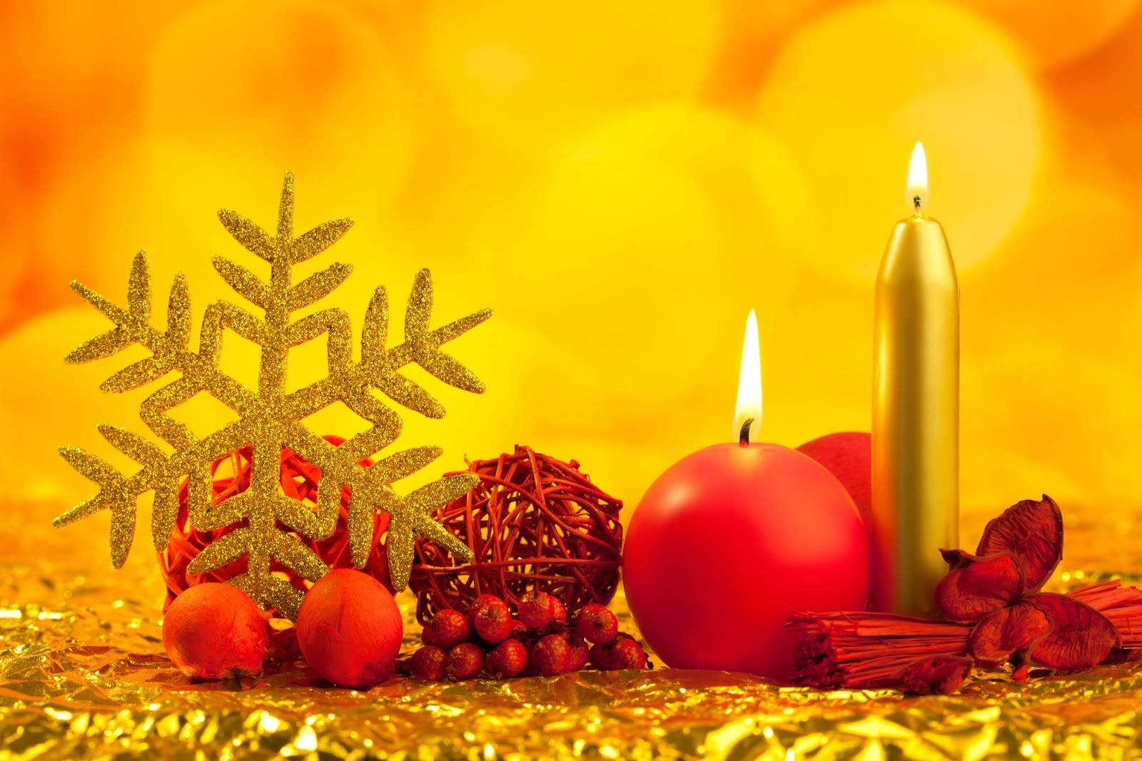 Banco de im genes velas esferas y adornos navide os postales de navidad - Adornos para fotos gratis ...