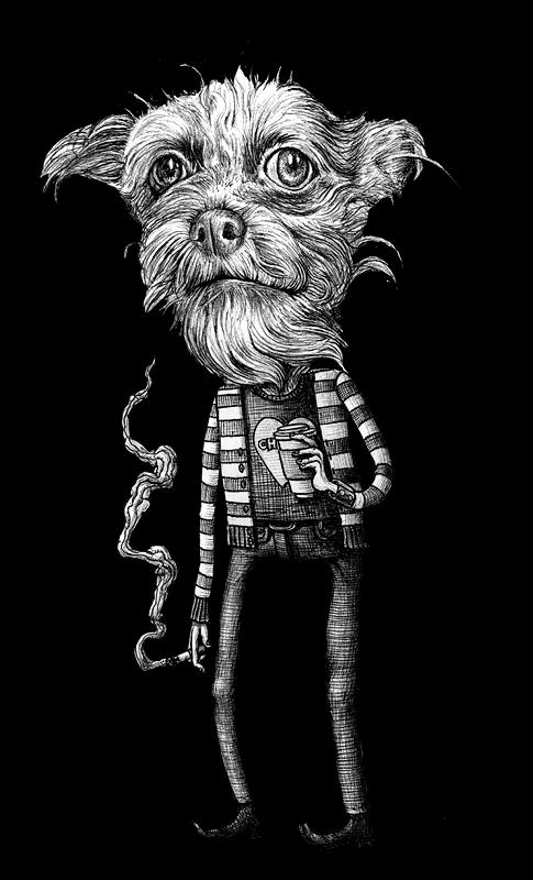 Doctor Ojiplático. Joey D. Ilustraciones