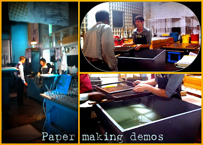 Morgan Conservatory: Papermaking demos