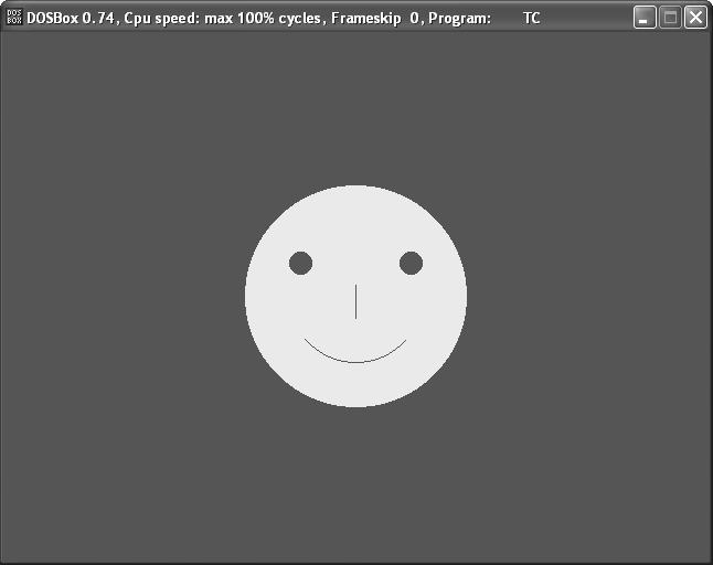 Simple Line Drawing Algorithm In C : Knowledgepedia draw a smiley in c