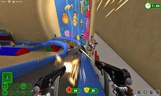 Batla - shooter cu roboti