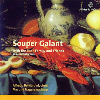 Souper Galant, with the Bach Family and Friends on period instruments