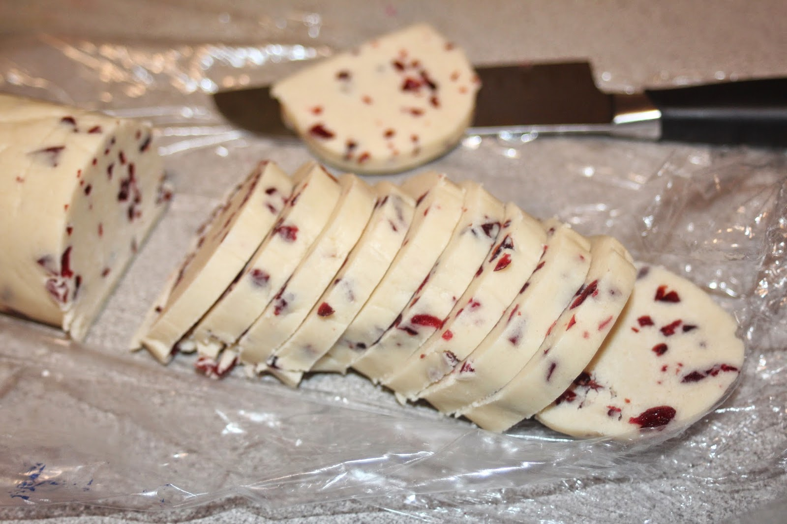 Julie Bakes Cranberry Shortbread Cookies The Great Food Blogger