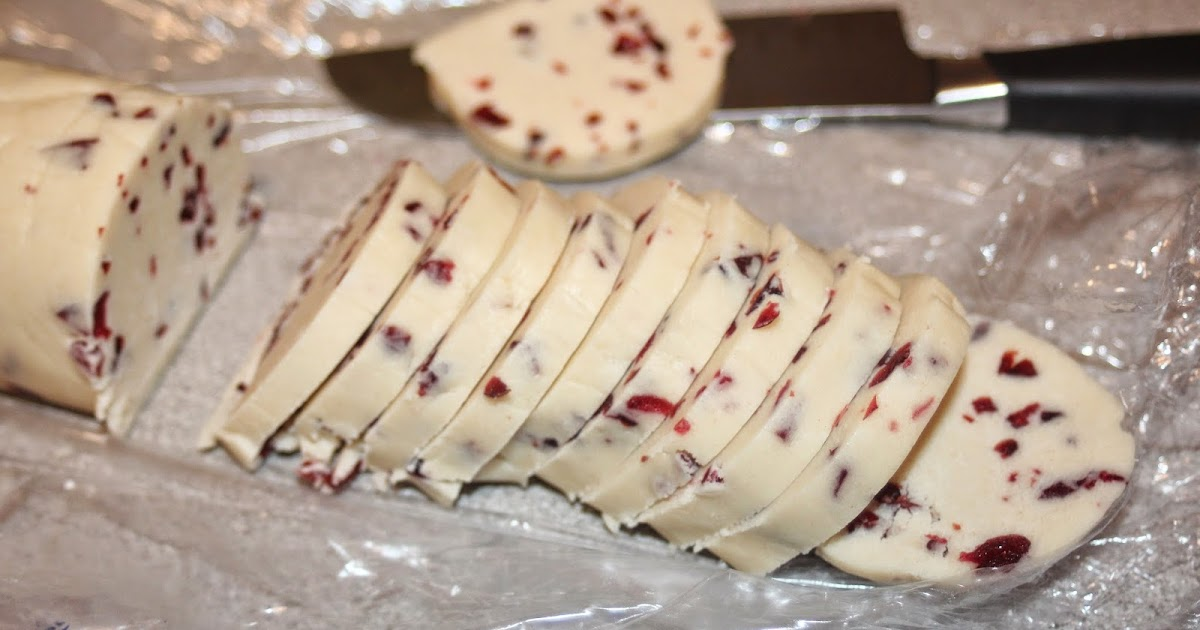 Julie Bakes: Cranberry shortbread cookies -- The Great Food Blogger ...