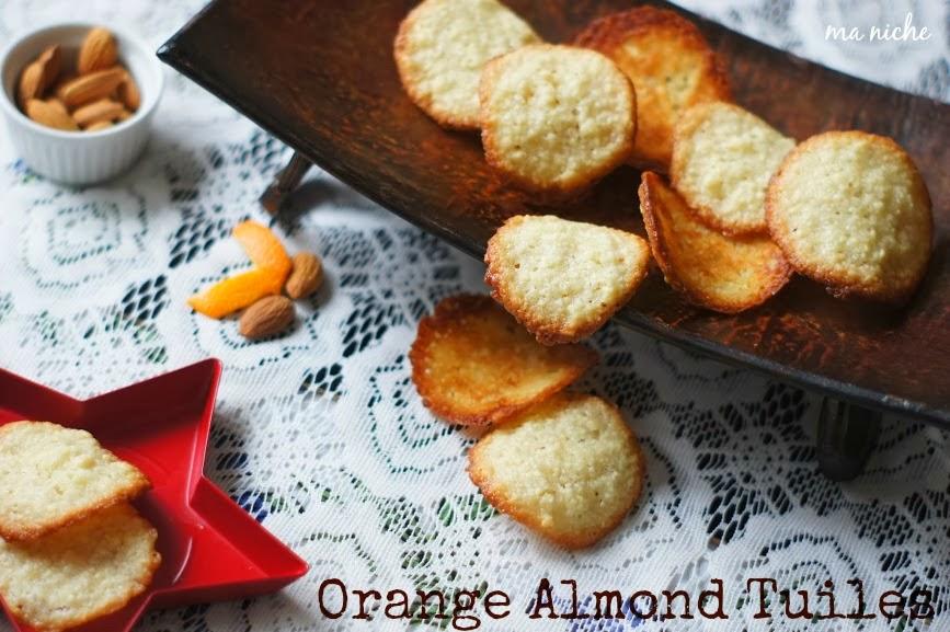 Almond Tuiles Delia Online